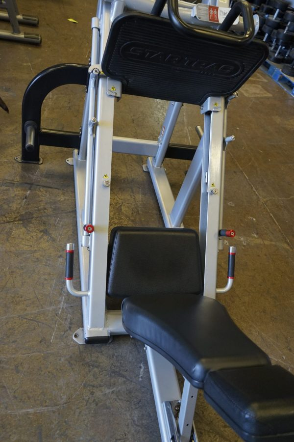 STAR TRAC LEVERAGE LEG PRESS