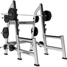 LIFE FITNESS SQUAT RACK