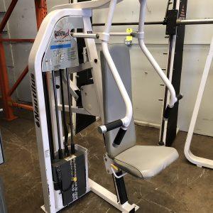 nautilus vertical press