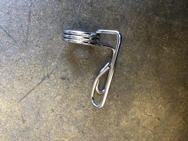 metal barbell clip